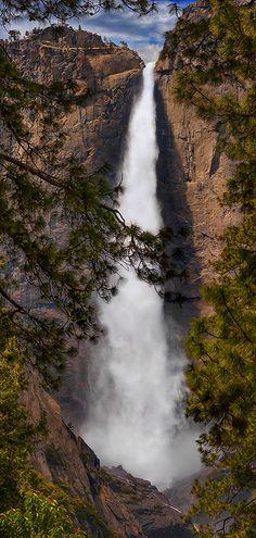 Yosemite Falls ~ Yosemite National Park, CA