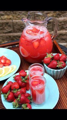 Strawberry Lemon aid