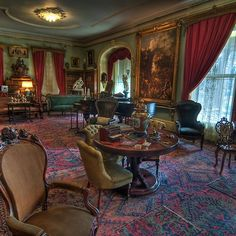 Formal Parlor Living Room 1800's Home