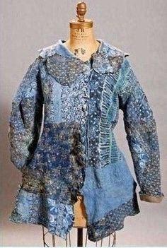 """coat of blues"""