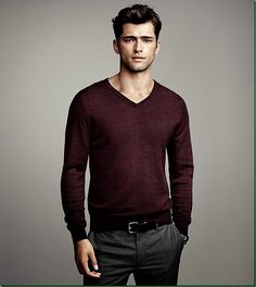 Sean O'Pry for H&M: 'Winter Knits'...I know Pepe Toth is Daemon perfect..but I imagine Daemon like this really! :)