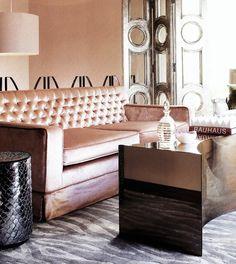 metallic luxe as seen in House & Garden (SA) June 2010