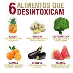 6 alimentos que desintoxicam
