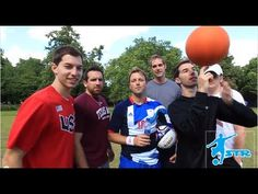 Football Trick shots - Dude Perfect & STRskillSchool Football Tricks, Football Football, Dude Perfect, Sports News, Shots, Soccer, Street, Futbol, European Football