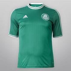 Palmeiras 2013 14 Adidas Home Kits Camisas Do Palmeiras deb18eb2d27ff