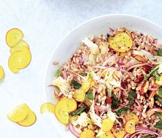 Barley, Fennel, and Beet Salad Recipe | Epicurious.com