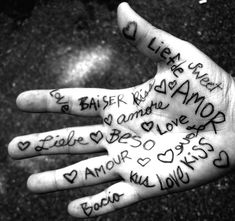 Beautiful! Love in many languages.
