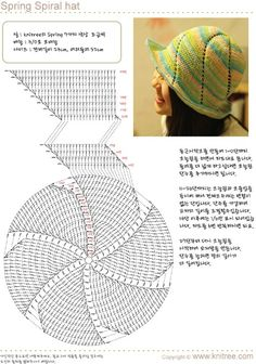 Best 10 ergahandmade: Long Crochet or Knit Skirt + Diagrams – SkillOfKing. Bonnet Crochet, Crochet Beanie Hat, Crochet Cap, Crochet Diagram, Diy Crochet, Crochet Stitches, Knitted Hats, Crochet Summer Hats, Crochet Baby Hats