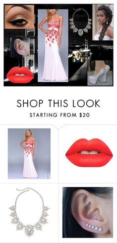 """""""Prom Dress: Peter Parker"""" by chesney-kuper ❤ liked on Polyvore featuring Nina Canacci and Lime Crime"""
