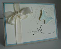 Hochzeitskarte von beemybear auf DaWanda.com