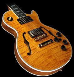 Gibson Custom Shop Limited Run Les Paul Custom Florentine Figured Transparent Amber