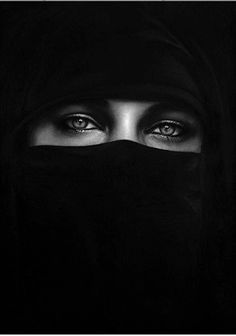 Untitled (Burqa), 2013 by Robert Longo. Archival pigment print. 42 x 30 inches. Price on Request. #burqa #robertlongo
