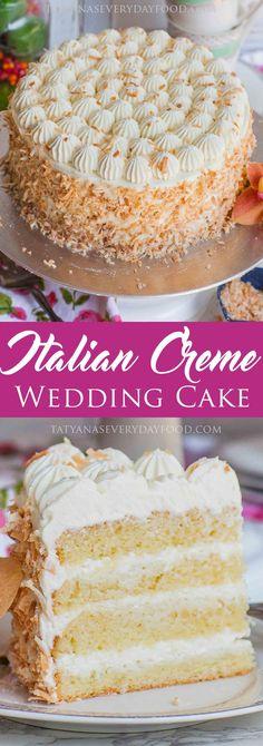 Italian Wedding Cake video recipe