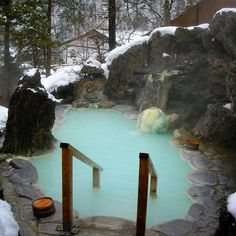 Shirahone Hot Springs, Japan