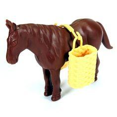 4 Cavalos Com Cestos - Fazenda, Carroça - R$ 18,90 no MercadoLivre