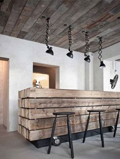 This gives me an idea of making an island that is disguised as an old crate/crates put together....with rope handles at either end....hot iron stamp?