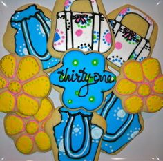 Thirty One party treats! These would be cute for any at home business party!