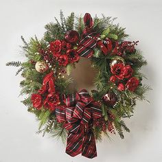 Highland Holiday Cordless Pre-Decorated Wreath  $419 on sale for $349 32""