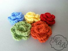 Petit Rose Snap Clip  FREE shipping in the US by HuggaBugBoutique, $3.00