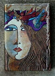 Nancy standlee ceramic wall art