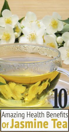 10 Amazing Health Benefits Of Jasmine Tea
