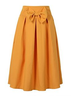 Choies Womens Casual Pleat Bowknot Front Midi Skirt XL, O... https://www.amazon.com/dp/B015O7YFL8/ref=cm_sw_r_pi_dp_x_IOCjybEPX0S4C