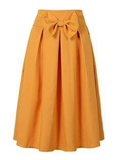 Choies Womens Casual Pleat Bowknot Front Midi Skirt XL, O... https://www.amazon.com/dp/B015O7YFL8/ref=cm_sw_r_pi_dp_x_IOCjybEPX0S4C