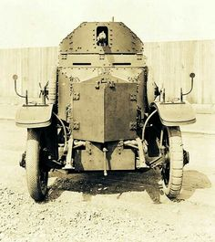 Rolls Royce armoured car, WW I