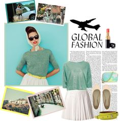 """Mint tones"" by marisedutainunpub ❤ liked on Polyvore"