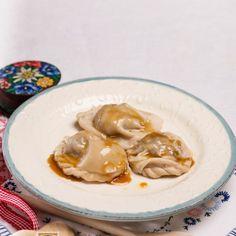 Kärntner Birnnudeln (Kletzennudeln) Ravioli, Hummus, Risotto, Pasta, Garlic, Vegetables, Ethnic Recipes, Europe, Food