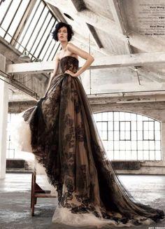 Kirsi Pyrhonen 為 Vogue Russia 拍攝特輯 - Fashion | Popbee