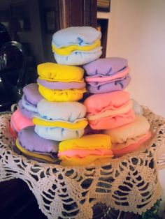 Macarons di feltro