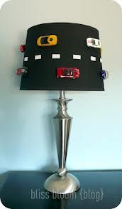 car themed lamp shade NASCAR - Google Search- linds!!