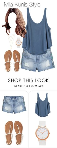 """Mila Kunis style"" by vika-garan on Polyvore featuring мода, H&M, RVCA, Aéropostale и Jules Smith"