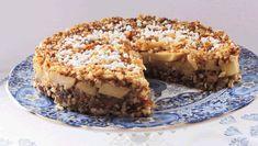 Appel-dadel-noten cake