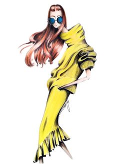 #FashionIllustrations #Spring @fashiongeekstudio  Be Inspirational ❥ Mz. Manerz: Being well dressed is a beautiful form of confidence, happiness & politeness