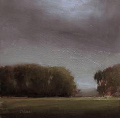 original oil painting landscape art