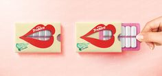 """Trident Xtra Care is a chewing sugar-free gum that helps protect teeth and gums in between meals and gives a whiter brighter smile. I created an amusing fun, playful and interactive packaging which enhance the main feature of the product """"Protecting Teeth…"""