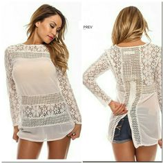 #lace top #summer top #top Http://ww.mieluz.com