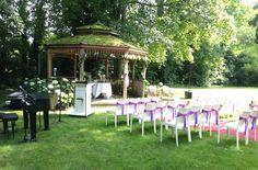 7 juli 2014: Luizter speelde live muziek tijdens trouwceremonie & walking dinner op Landgoed Groenhoven te Bruchem. Tijdens de trouwceremonie speelden we...