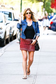 Jennifer Aniston - Arrives at a Meeting in New York 6/17/2016