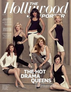 The Hollywood Reporter Cover: Kerry Washington And 5 More Drama Queens