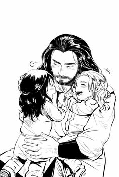 Thorin, Fili and Kili - I love these pics, they're soo sweet. I never ever get tired of them.
