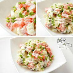 Всё о еде...: Салат с семгой