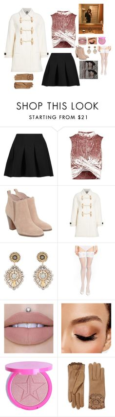 """""""One year anniversary"""" by undead-charms ❤ liked on Polyvore featuring T By Alexander Wang, Topshop, Michael Kors, Burberry, Miguel Ases, Wolford and Avon"""