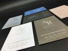 Cartes de Visite en bois stratifié gravés au laser – Imprimerie ICB Gravure Laser, Cards Against Humanity, Carte De Visite, Cards, Printing