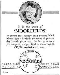 Moorfield's Eye Hospital. 17 December, 1942.