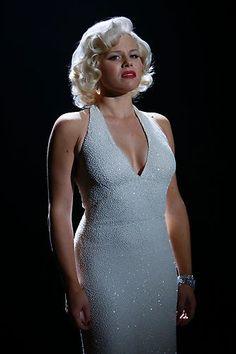 "Megan Hilty as Ivy Lynn playing Marilyn Monroe in ""Bombshell"" | #Smash"
