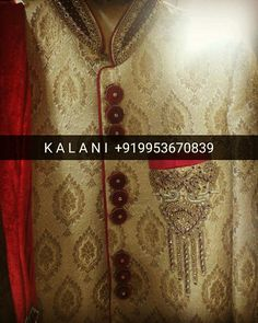 Men Ethnic Groom Sherwani , Worldwide Shipping & Delivery.!  WhatsApp : +919953670839