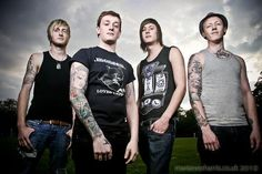 Recently obsessed with #deafhavana ....The lead singer is a mega-babe.